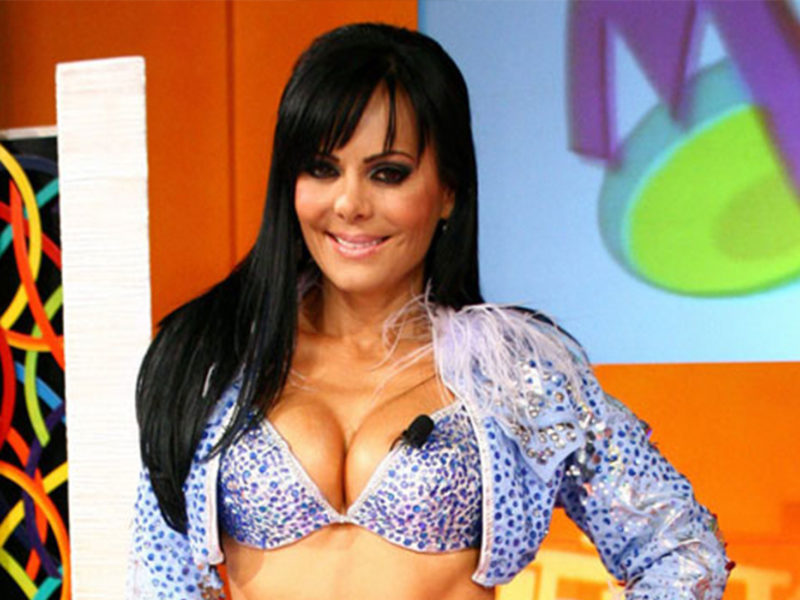 Maribel Guardia Conductora