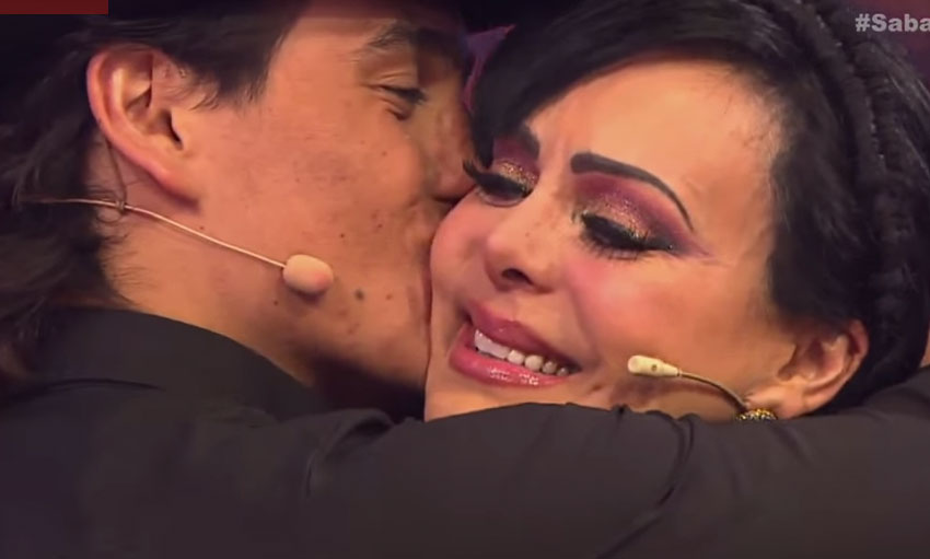 Maribel Guardia y Julián Figueroa en Sabadazo