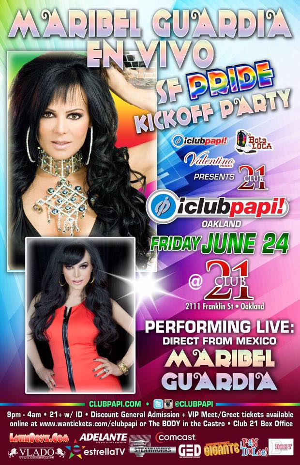 Maribel Guardia San Francisco Pride
