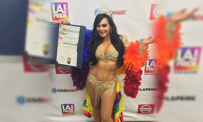 Maribel Guardia - Reina Gay Los Angeles 2016